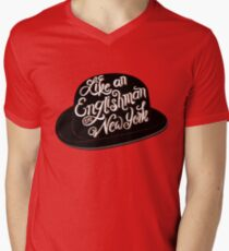 Like an Englishman in New York Men's V-Neck T-Shirt