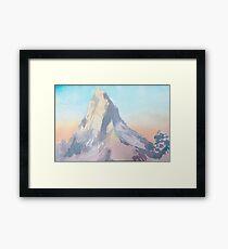 The Matterhorn Framed Print