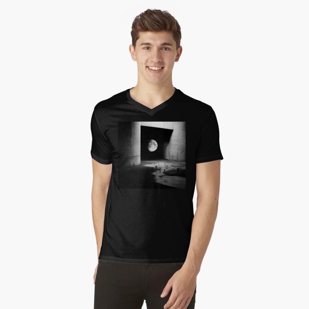 A la Luna Camiseta de cuello en V