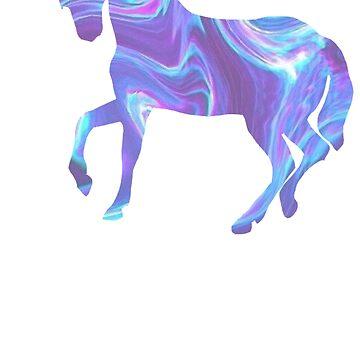 Wavy Holo Unicorn by Lilxpie