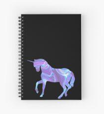 Cuaderno de espiral Ondulado, holo, unicornio