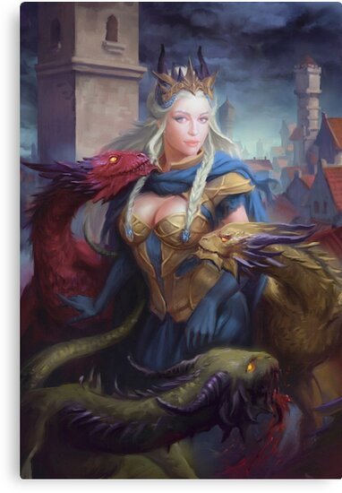 Mother of Dragons by Raluca Marinescu