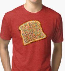 Fairy Bread Pattern Tri-blend T-Shirt