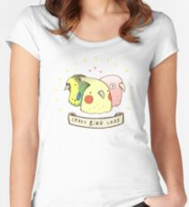 Crazy Bird Lady Women's Fitted Scoop T-Shirt