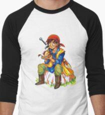 Camiseta ¾ estilo béisbol Dragon Quest 8