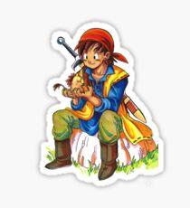 Dragon Quest 8 Sticker