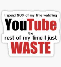 Watching YouTube Sticker