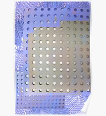Perforated knit Poster
