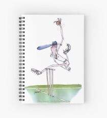 England Cricket spin bowler - tony fernandes Spiral Notebook