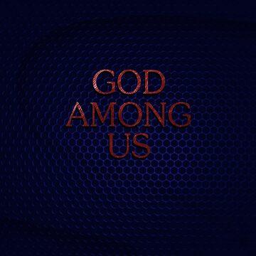 GOD AMONG US by morigirl