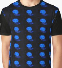 Blue jelly fish  Graphic T-Shirt