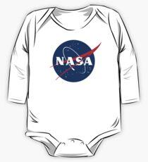 Body de manga larga para bebé Nasa