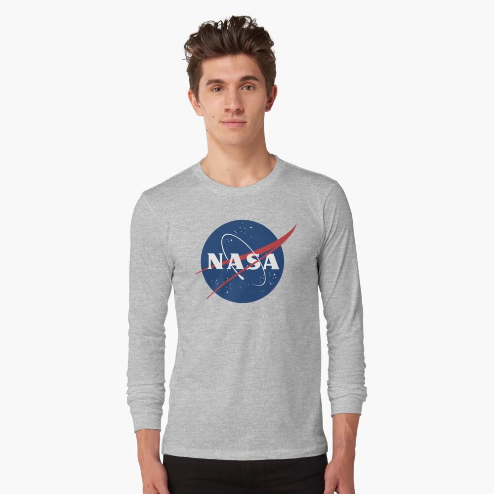 Nasa Long Sleeve T-Shirt Front