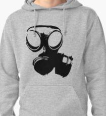 Gasmask BW Pullover Hoodie