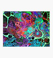 PSYCHEDELIC Color Photographic Print
