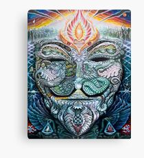 PSYCHEDELIC Anonymous Canvas Print