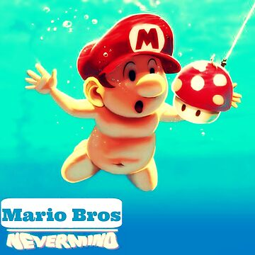 "Mario's disk ""Nevermind"" by nikolech"