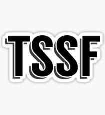 Die Geschichte bisher - TSSF Caps Text Sticker