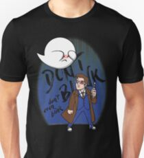 Don't Blink Boo & Dr.who T-Shirt