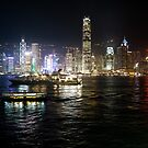Hong Kong, evening by madewithtubo