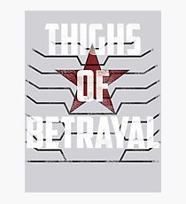 Thighs of Betrayal- The Winter Soldier Photographic Print