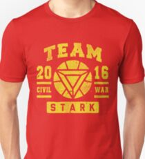 Civil War - Team Stark T-Shirt