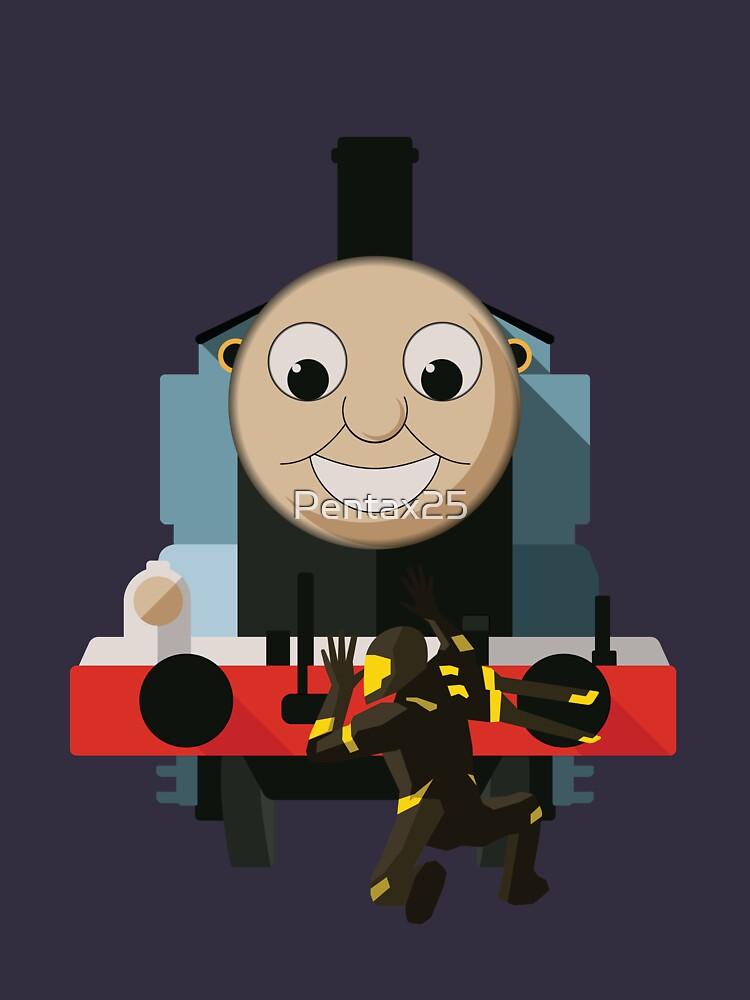 Thomas vs Yellowjacket by Pentax25