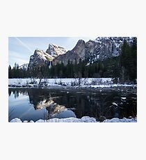 Yosemite Mountains Photographic Print