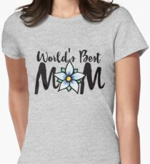 World's Best Mom Women's Fitted T-Shirt