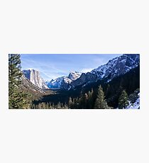 Yosemite Valley Photographic Print