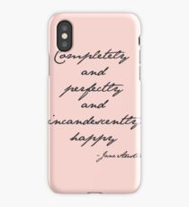 incandescently happy iPhone Case