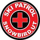 SNOWBIRD UTAH Ski Patrol Ski Skiing Art by MyHandmadeSigns