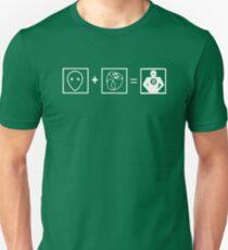 Sheldons Lantern Gleichung Unisex T-Shirt