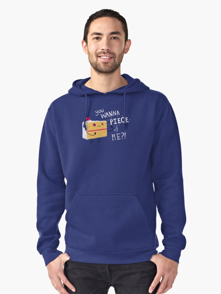 Angry Cake Pullover Hoodie Front
