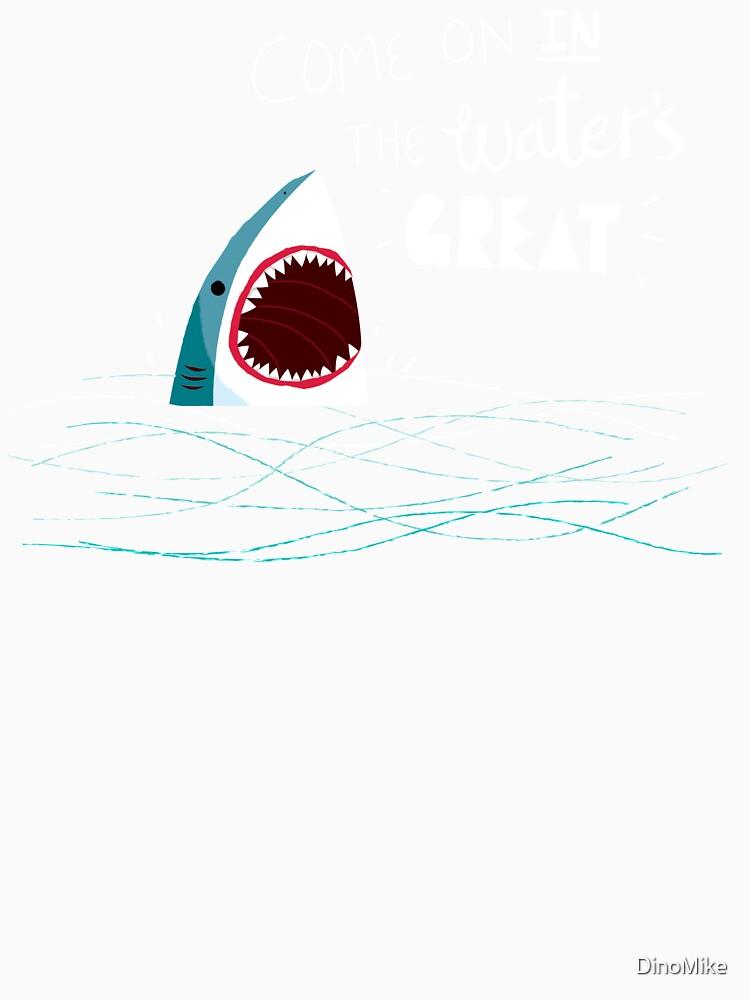 Gran tiburón de consejos de DinoMike