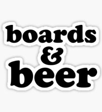Boards & Beer Sticker
