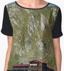 Resort below mountains Women's Chiffon Top