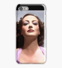 Colorized Joan Crawford in 1935 No More Ladies iPhone Case/Skin