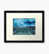 French Vineyards Framed Print