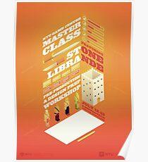 Stone Librande: Pre-production & Design Prep Workshop Poster