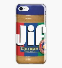 Jif Peanut Butter (Extra Crunchy) iPhone Case/Skin