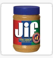 Jif Peanut Butter (Extra Crunchy) Sticker
