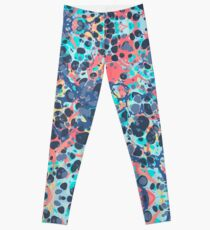 Urban Hip Hop Splash Psychedelic Colors Abstract Pattern Leggings