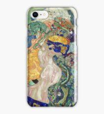 Gustav Klimt - Baby ,Cradle  iPhone Case/Skin
