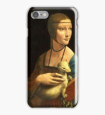 Leonardo Da Vinci - The Lady With An Ermine  iPhone Case/Skin