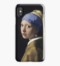 Johannes Vermeer - The Girl With A Pearl Earring iPhone Case/Skin