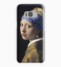 Johannes Vermeer - The Girl With A Pearl Earring Samsung Galaxy Case/Skin