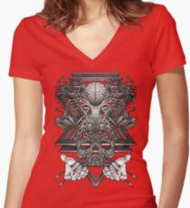 Winya No. 57 Women's Fitted V-Neck T-Shirt