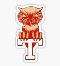 Temple Owls Sticker