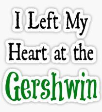 Gershwin Trash  Sticker